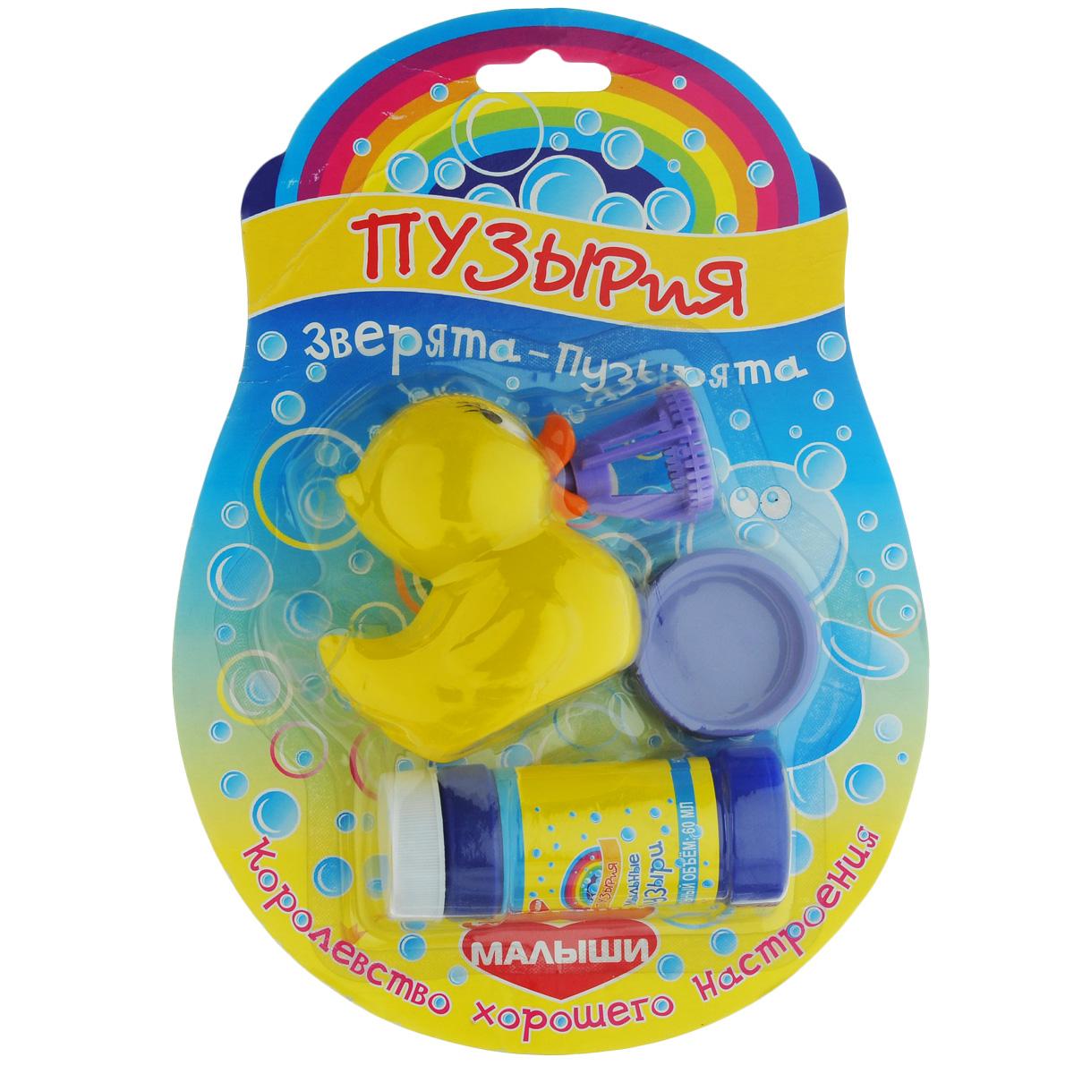 Набор для пускания мыльных пузырей Малыши