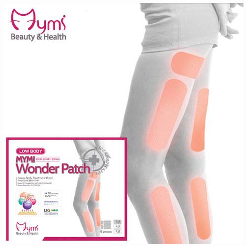 MYMI Wonder Patch Lowbody Патчи для похудения нижней части тела 3 шт.85253Пластырь для похудения для нижней части тела Mymi Wonder Patch Low Body является уникальным средством для поддержания красивой и стройной фигуры. Он изготовлен по рецептам древней китайской медицины. Пластырь рекомендуют применять при ожирении и лишнем весе. Он способствует улучшению работы желудочно-кишечного тракта и кишечника. Содержит в своем составе большой набор натуральных лекарственных растений, которые быстро проникают в подкожный слой, активируют обменные процессы, усиливают кровообращение, выводят токсины и излишки влаги, сжигают жир, улучшают эластичность кожного покрова, подтягивают живот. Активные компоненты, входящие в состав пластыря, восстанавливают функции лимфатической и эндокринной систем. Пластырь для похудения Mymi Wonder Patch не обладает побочными эффектами.