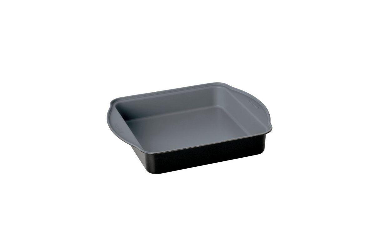 Прямоугольная форма для выпечки Earthchef 30x25x5 см, цвет: черно-серый3600614Корпус прямоугольной формы для выпечки Earthchef 30x25x5 см выполнен из высокоуглеродистой стали для энергосберегающего и равномерного прогревания, что обеспечивает однородность выпечки. Внутреннее покрытие -антипригарное Ferno Green, которое не содержит ПФОК, что позволяет легко извлечь выпечку из формы. Легко моется. Рекомендуется мыть вручную. Подходит для использования в духовом шкафу.