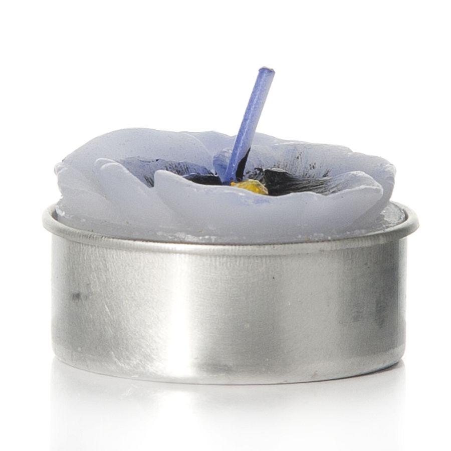 Набор свечей House & Holder Фиалка, 6 штN14192-4005Набор House & Holder Фиалка состоит из 6 свечей, выполненных в виде фиалок, в металлических подставках. Свечи изготовлены из парафина. Такой набор украсит интерьер вашего дома или офиса и наполнит его атмосферу теплом и уютом. Размер свечи (без учета фитиля): 4 см х 4 см х 2 см.