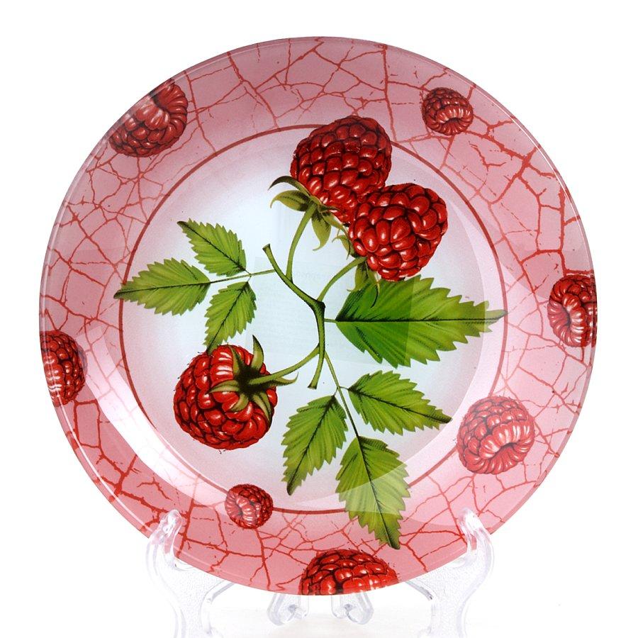 Салатник House & Holder Малина, цвет: розовый, зеленый, диаметр 20,5 смS302008NF191Салатник House & Holder Малина изготовленный из прочного стекла, оформлен красочным изображением ягод малины и идеально подходит для сервировки стола. Салатник House & Holder Малина не только украсит ваш кухонный стол и подчеркнет прекрасный вкус хозяйки, но и станет отличным подарком. Диаметр салатника: 20,5 см. Высота салатника: 3 см.