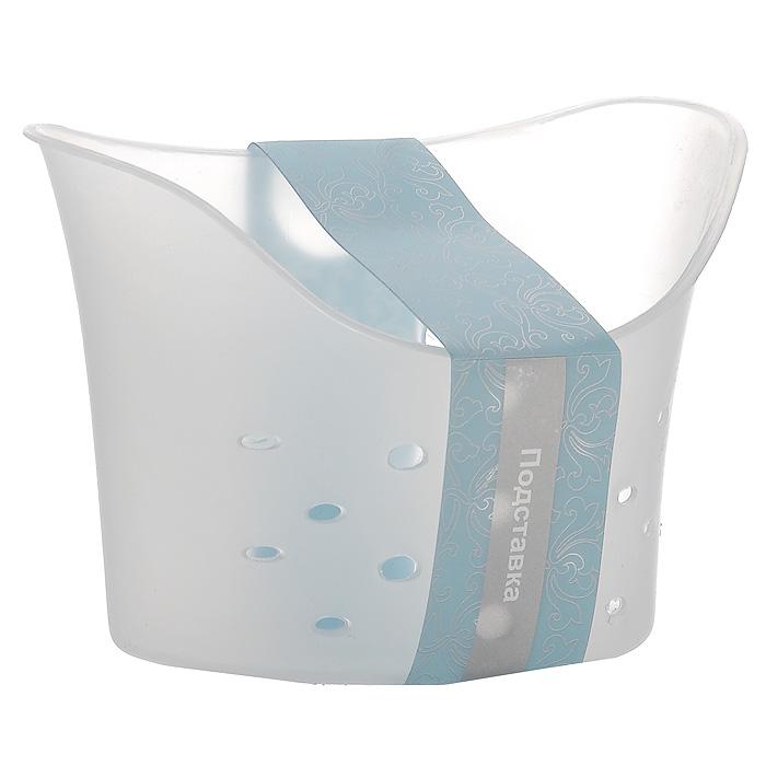 Подставка навесная LaSella, на присосках, цвет: прозрачный, 18,5 х 9 х 13,5 смTL1662Подставка LaSella, изготовленная из пластика, предназначена для хранения мелких вещей в ванной комнате. Она крепится к стене с помощью двух вакуумных присосок (входят в комплект), мгновенно одним нажатием. Основание и стенки подставки оформлены перфорацией. В случае необходимости изделие можно быстро перевесить. Никаких дырок и следов на поверхности не остается. Легко устанавливается на плитку, стекло, металл и прочие воздухонепроницаемые поверхности. Размер подставки: 18,5 см х 9 см х 13,5 см. Диаметр присоски: 6 см.