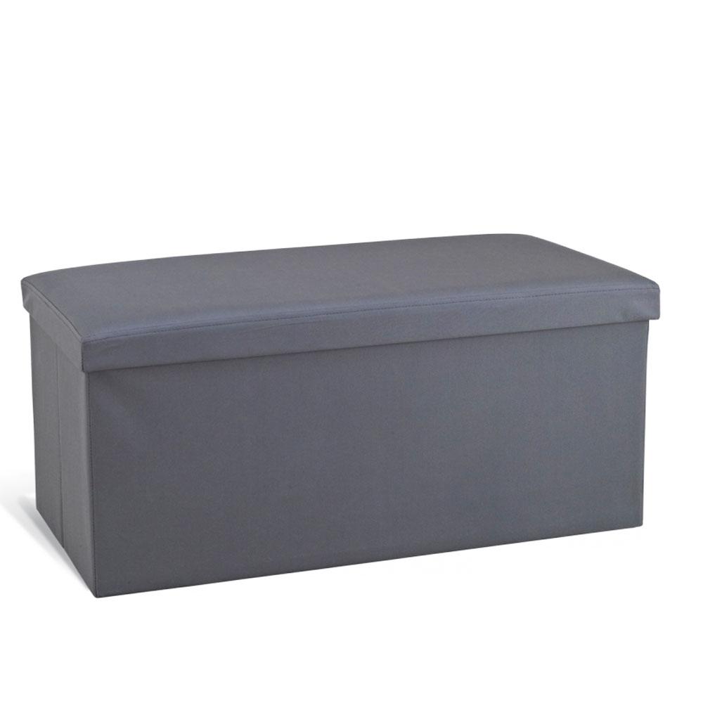 Банкетка складная Sheffilton, цвет: серый, 76 см х 38 см х 38 смSHT-FO8Оригинальная складная банкетка Sheffilton, идеально впишется в интерьер любой комнаты, прихожей, станет отличным дополнением на даче. Каркас банкетки изготовлен из МДФ и обит тканью. Может использоваться как мягкое посадочное место или столик. Верхняя часть открывается, позволяя использовать внутреннюю часть банкетки как дополнительное место для хранения необходимых вещей.