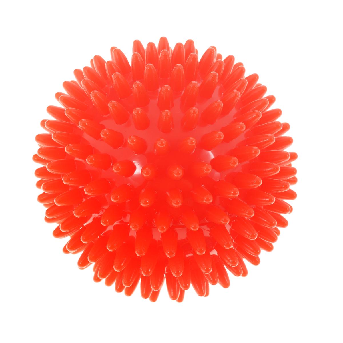 Игрушка для собак V.I.Pet Массажный мяч, цвет: красный, диаметр 9 смBL11-015-90Игрушка для собак V.I.Pet Массажный мяч, изготовленная из ПВХ, предназначена для массажа и самомассажа рефлексогенных зон. Она имеет мягкие закругленные массажные шипы, эффективно массирующие и не травмирующие кожу. Игрушка не позволит скучать вашему питомцу ни дома, ни на улице. Диаметр: 9 см.