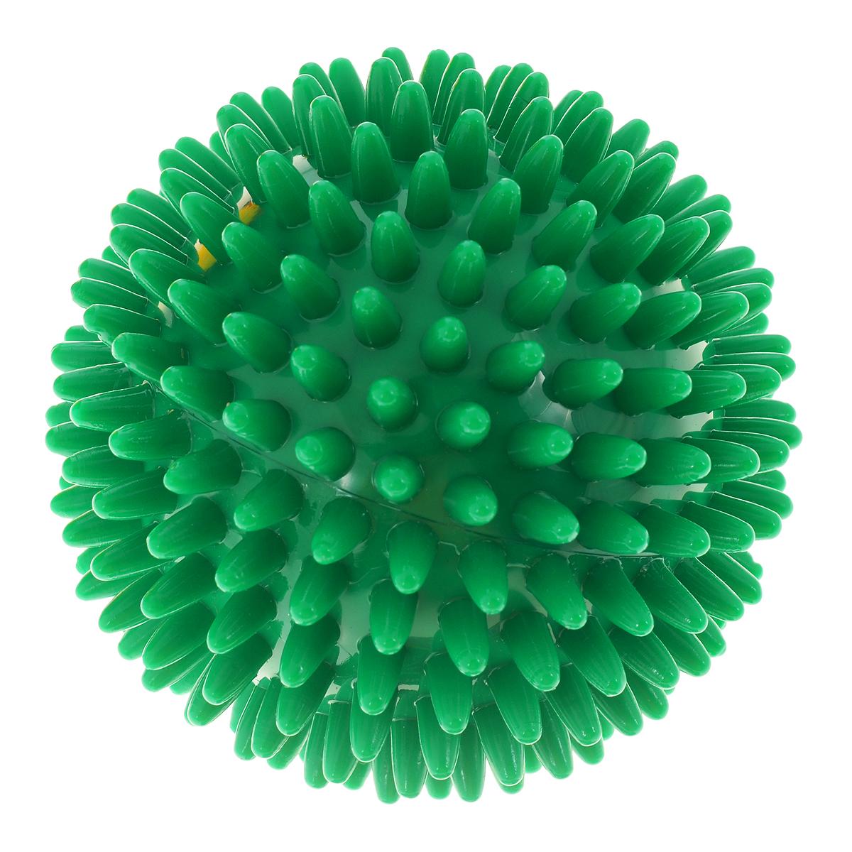 Игрушка для собак V.I.Pet Массажный мяч, цвет: зеленый, диаметр 10 смBL11-015-100Игрушка для собак V.I.Pet Массажный мяч, изготовленная из ПВХ, предназначена для массажа и самомассажа рефлексогенных зон. Она имеет мягкие закругленные массажные шипы, эффективно массирующие и не травмирующие кожу. Игрушка не позволит скучать вашему питомцу ни дома, ни на улице. Диаметр: 10 см.