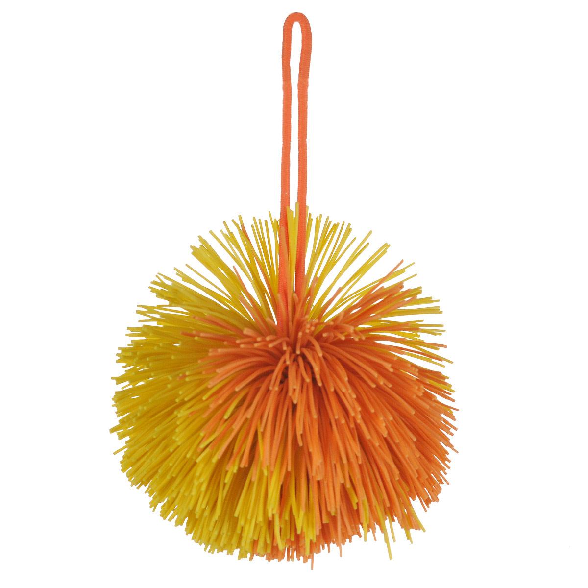 Мяч Ogosoft, цвет: желтый, оранжевыйOG0401