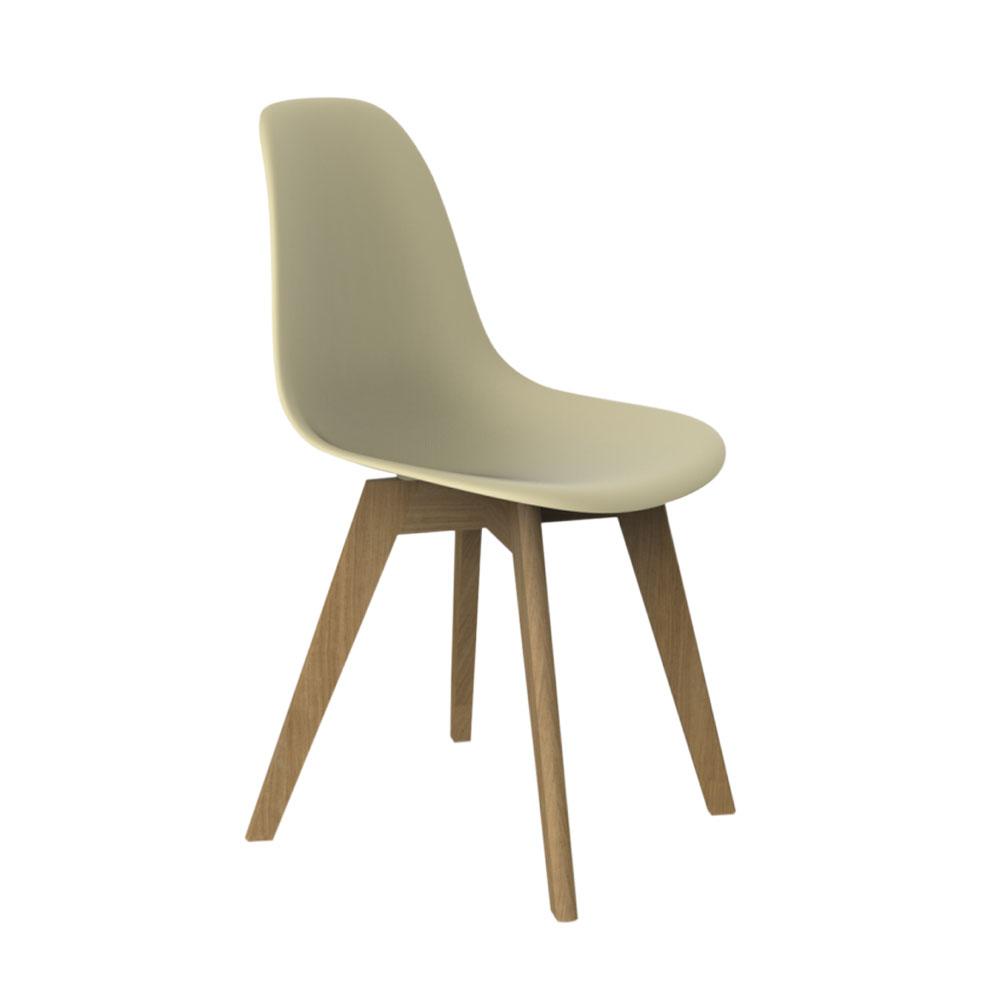 Стул Sheffilton, цвет: бежевый, 51 см х 56 см х 84 смСТ-39Современный пластиковый стул Sheffilton на деревянных ножках, органично впишется в интерьер любого помещения. Комфортное сиденье изготовлено из полипропилена, и практически не утрачивает внешний вид в процессе эксплуатации. Стул Sheffilton идеально подойдет для дома, гостиной, спальни, а также для кафе, баров и ресторанов. Толщина сиденья: 7 мм. Размер сиденья: 53 см х 46,5 см х 46,5 см. Высота спинки: 46,5 см. Максимальная нагрузка: 100 кг.