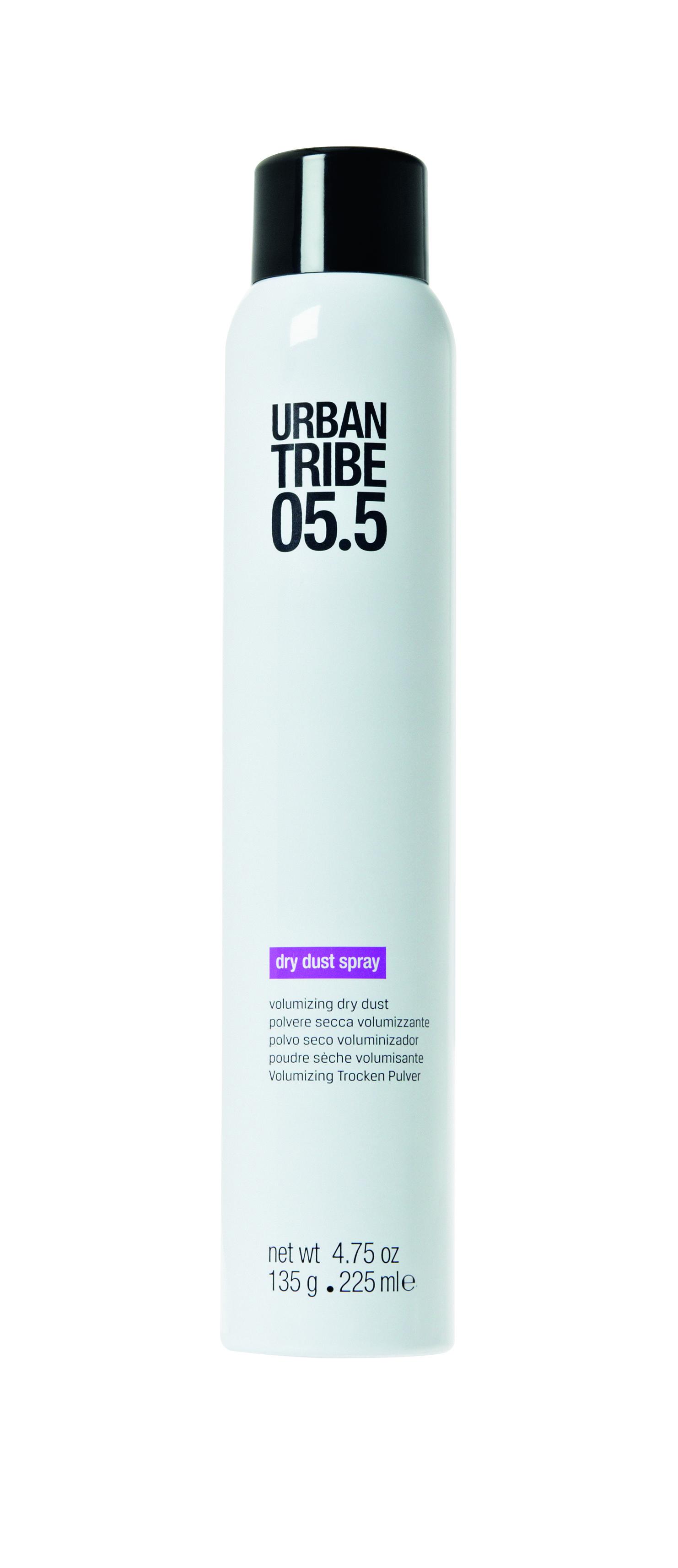 URBAN TRIBE Сухой порошок спрей для создания объема 225 мл.53361Сухой спрей-пудра для увеличения объема. Освежите свою прическу, придав невероятный объем в любое время. Придает невероятный объем любым типам волос.
