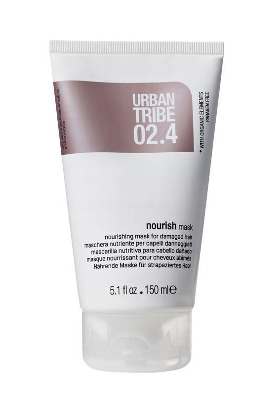 URBAN TRIBE Питательная маска для поврежденных волос 150 мл.56331Питательная маска для поврежденных волос. Специальные роскошные активные ингредиенты глубоко питают волосы, делая их более густыми, мягкими, блестящими и облегчая расчесывание.