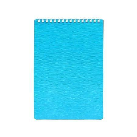 Блокнот 80л А5ф Пластиковая обложка на гребне WOOD Бирюза80Б5B1гр_02223Блокнот с обложкой из картона, защищающей бумагу от деформации.