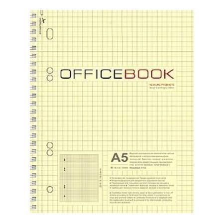 Тетрадь 80л А5ф тониров.блок на гребне выб Уф лак Office Book80Т5влB5гр_06602Тетрадь с обложкой из картона, защищающей бумагу от деформации.