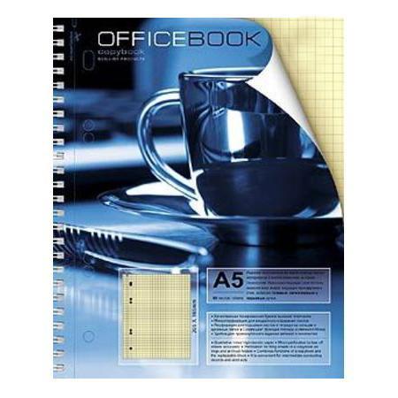 Тетрадь 80л А5ф тониров.блок на гребне выб Уф лак Чашка кофе80Т5влB5гр_06603Тетрадь с обложкой из картона, защищающей бумагу от деформации.