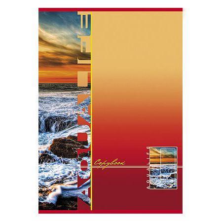 Тетрадь 80л А4ф клетка на скобе выб лак серия Аквалайф80Т4вмB3Тетрадь с обложкой из картона, защищающей бумагу от деформации.