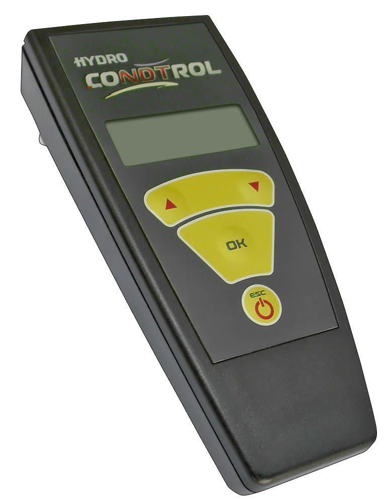 HYDRO CONDTROL3-14-006Влагомер HYDRO CONDTROL обеспечивают возможность контроля влажности строительных материалов (бетон, растворная стяжка, штукатурка, кирпич) и древесины в лабораторных, производственных и натурных условиях. Благодаря высочайшей производительности диэлькометрического метода измерения влажности Вы можете, например, проверить доску на влажность по всей длине в считанные секунды, избавив тем самым себя от головной боли, связанной с расщеплением, короблением, отставанием ламината и некачественной склейки древесины. Перед сборкой деревянных изделий обязательно проверяйте детали на совместимость по уровню содержания влаги.