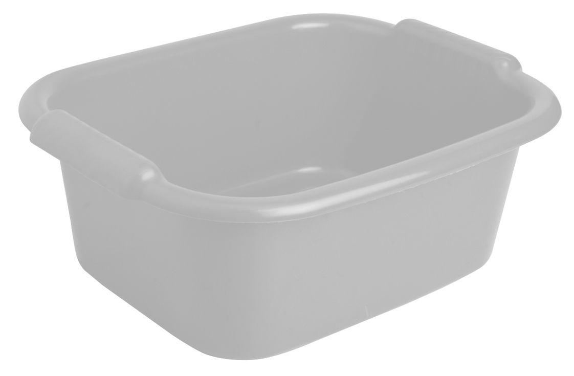 Таз прямоугольный 10 л., цвет: серый51430-AТаз Apex выполнен из прочного пластика. Он предназначен для стирки и хранения разных вещей. По бокам имеются удобные углубления, которые обеспечивают удобный захват. Таз пригодится в любом хозяйстве. Пластик.