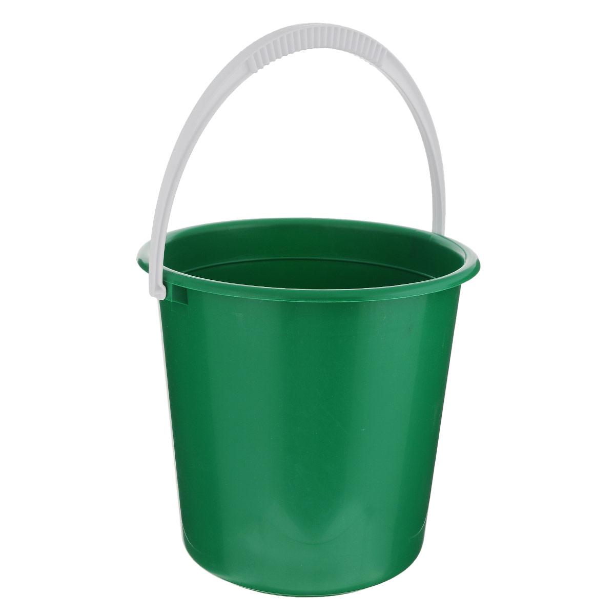 Ведро Альтернатива Крепыш, цвет: зеленый, 10 лК117_зеленыйВедро Альтернатива Крепыш изготовлено из высококачественного одноцветного пластика. Оно легче железного и не подвержено коррозии. Ведро оснащено удобной пластиковой ручкой. Такое ведро станет незаменимым помощником в хозяйстве. Диаметр: 28 см. Высота: 27 см.