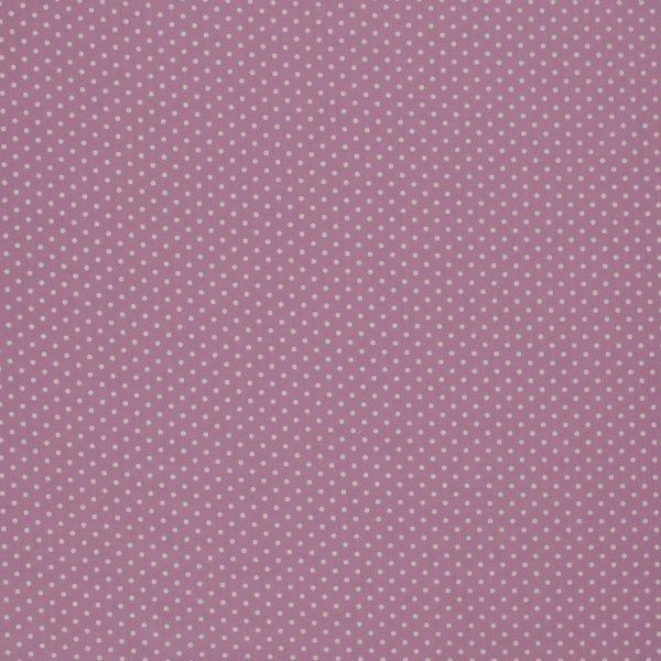 Ткань Dots violet, ширина 110см, в упаковке 1м, 100% хлопок, коллекция Les violets /Благородно-фиолетовый/. BDOT.PYBDOT.PYТкань Dots violet, ширина 110см, в упаковке 1м, 100% хлопок, коллекция Les violets /Благородно-фиолетовый/