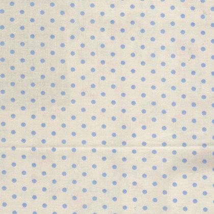 Ткань Dots gris, ширина 110см, в упаковке 1м, 100% хлопок, коллекция Les bleus /Небесно-голубой/. BDOT.YBBDOT.YBТкань Dots gris, ширина 110см, в упаковке 1м, 100% хлопок, коллекция Les bleus /Небесно-голубой/