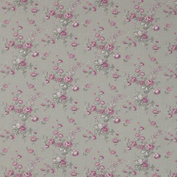 Ткань Marion gris, ширина 110см, в упаковке 1м, 100% хлопок, коллекция Les violets /Благородно-фиолетовый/. BION.YPBION.YPТкань Marion gris, ширина 110см, в упаковке 1м, 100% хлопок, коллекция Les violets /Благородно-фиолетовый/
