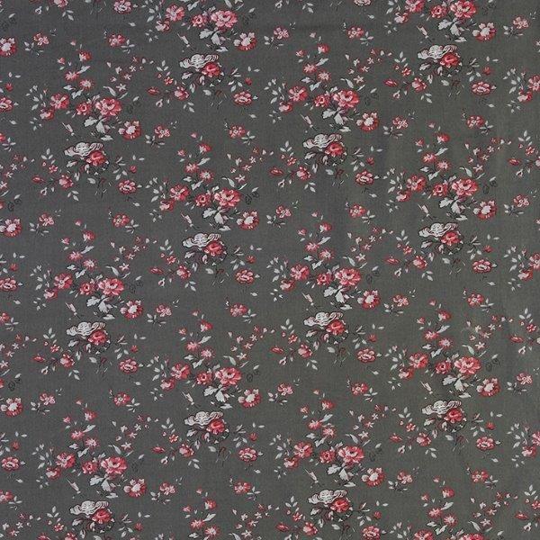 Ткань Marion gris, ширина 110см, в упаковке 1м, 100% хлопок, коллекция Les rouges et roses /Изысканно-красный/. BION.YRBION.YRТкань Marion gris, ширина 110см, в упаковке 1м, 100% хлопок, коллекция Les rouges et roses /Изысканно-красный/