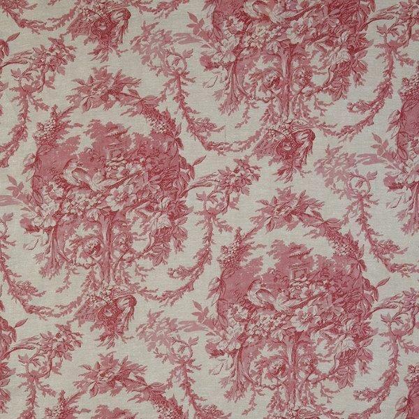 Ткань Melanie Chambray, ширина 110см, в упаковке 1м, 100% хлопок, коллекция Les rouges et roses /Изысканно-красный/. BME.CHRBME.CHRТкань Melanie Chambray, ширина 110см, в упаковке 1м, 100% хлопок, коллекция Les rouges et roses /Изысканно-красный/