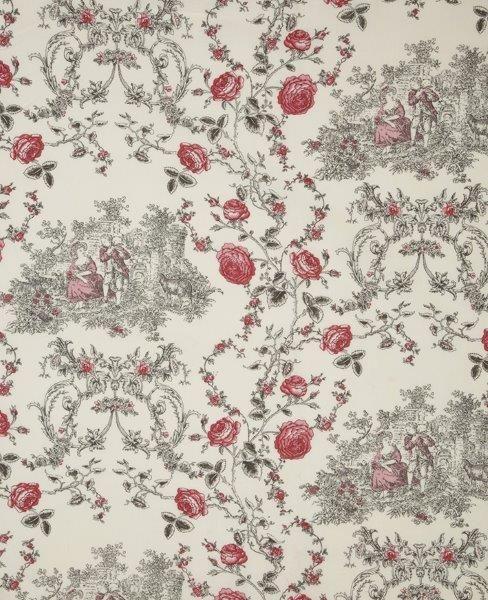 Ткань Princess ivoire, ширина 110см, в упаковке 1м, 100% хлопок, коллекция Les rouges et roses /Изысканно-красный/. BPS.09BPS.09Ткань Princess ivoire, ширина 110см, в упаковке 1м, 100% хлопок, коллекция Les rouges et roses /Изысканно-красный/