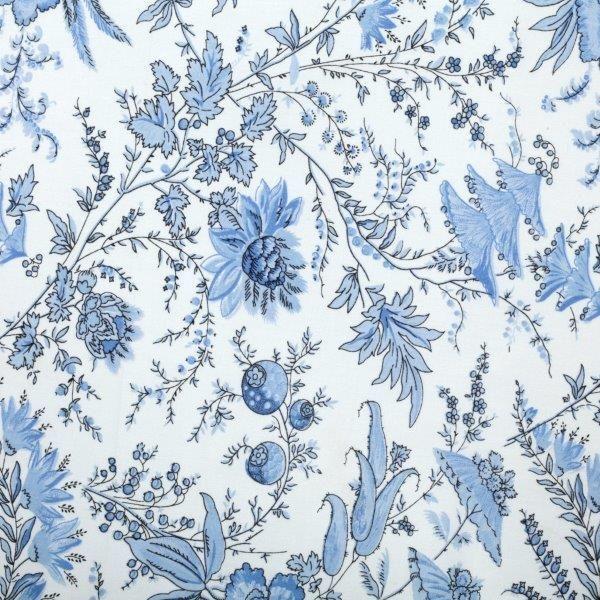 Ткань Sati ivoire, ширина 110см, в упаковке 1м, 100% хлопок, коллекция Les bleus /Небесно-голубой/. BSAT.IBBSAT.IBТкань Sati ivoire, ширина 110см, в упаковке 1м, 100% хлопок, коллекция Les bleus /Небесно-голубой/