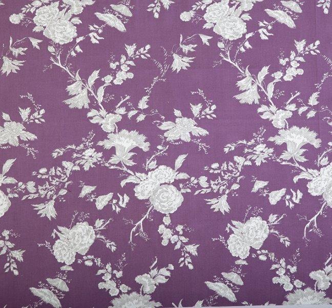 Ткань Satya violet, ширина 110см, в упаковке 1м, 100% хлопок, коллекция Les violets /Благородно-фиолетовый/. BSY.45BSY.45Ткань Satya violet, ширина 110см, в упаковке 1м, 100% хлопок, коллекция Les violets /Благородно-фиолетовый/