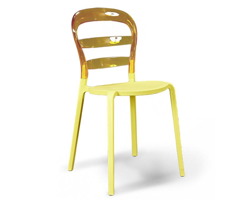Стул Sheffilton, цвет: янтарь, бежевый, 50 х 45 х 85 смSHT-S12Яркий пластмассовый стул Sheffilton станет стильным акцентом вашего интерьера. Он отлично подойдет как для дома, так и для кафе, баров, ресторанов и многих других общественных мест. Сидение и каркас выполнен из поликарбоната. Материал изделия устойчив к деформациям, механическому воздействию и легок в уходе, стул практически не утрачивает внешнего вида в процессе длительной эксплуатации. Можно штабелировать, что позволяет экономить место при хранении. Толщина сиденья: 7 мм. Размер сиденья: 35 см х 37,5 см. Высота спинки: 32,5 см. Максимальная нагрузка: 150 кг.