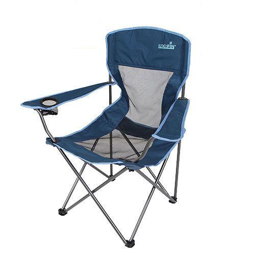 Кресло складное Norfin Raisio NFL, цвет: синий, 54 см х 42 см х 95 смNFL-20106Складное кресло Norfin Raisio NFL максимально комфортно в условиях жаркого климата благодаря спинке, выполненной из прочной сетчатой ткани. Имеет прочный стальной каркас диаметром 16 мм. Кресло оснащено подставкой для напитков. Оно отлично подойдет для рыболовов. Комплектуется сумкой-чехлом для удобства транспортировки.