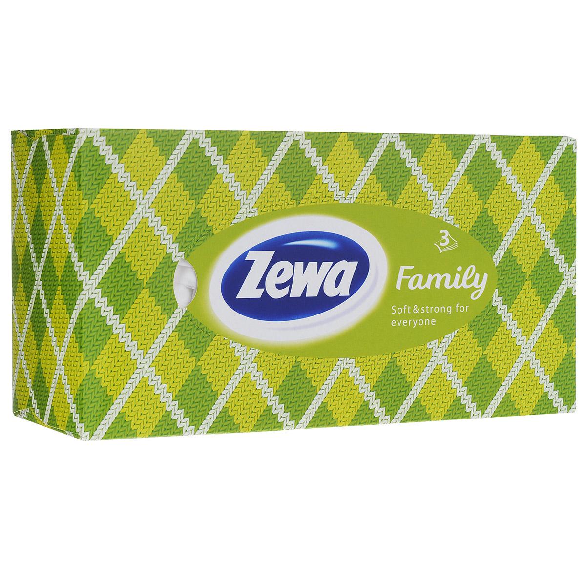 Платки в коробке Zewa