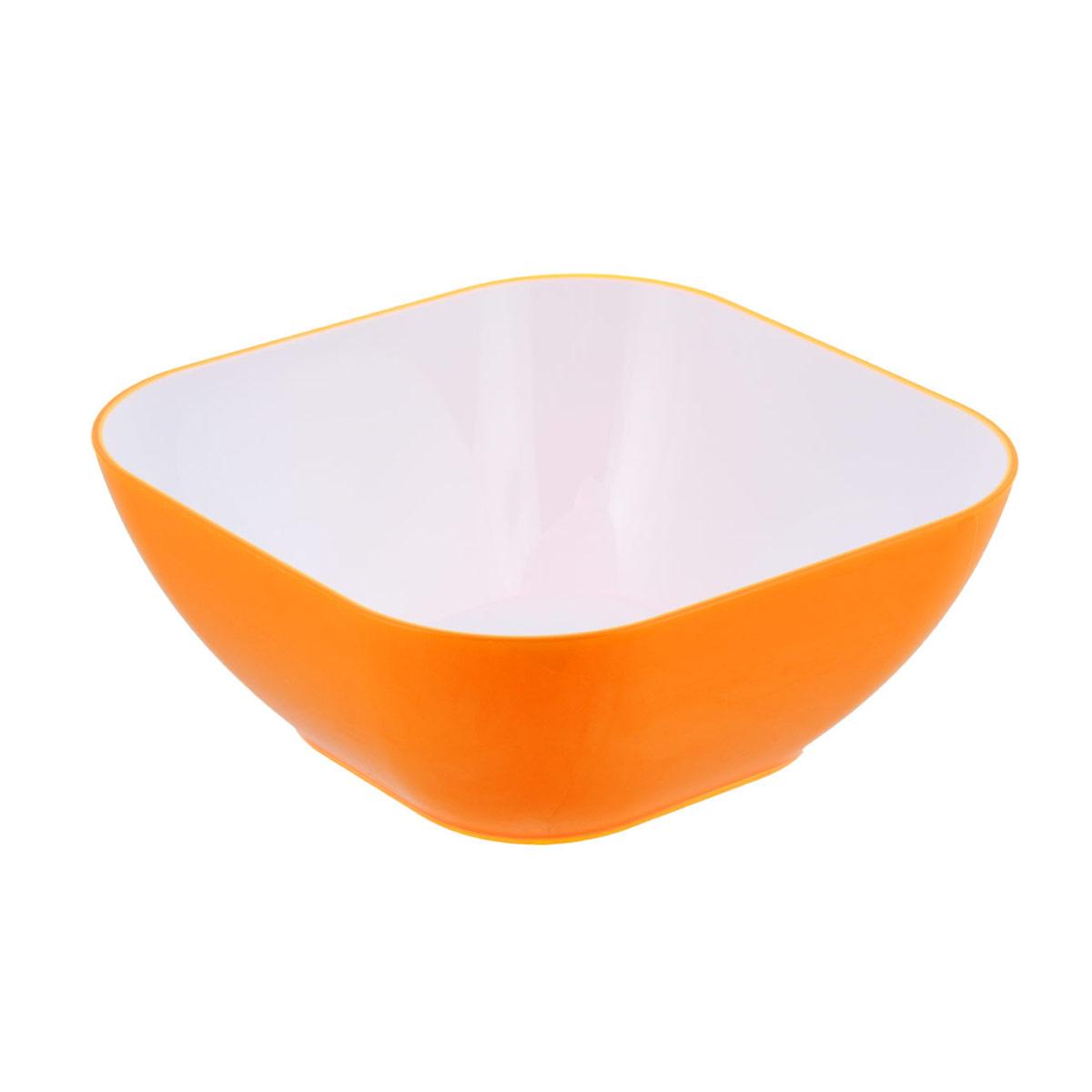 Миска Bradex, цвет: оранжевый, 0,8 лTK 0136Миска Bradex выполнена из цветного пищевого пластика, устойчивого к действию уксуса, спирта и масел. Миска прочная и стойкая к царапинам. Благодаря высококачественным материалам она не впитывает запахи и не изменяет вкусовые качества пищи. Идеально подходит как для домашнего использования, так и для пикников. Яркий салатник создаст веселое летнее настроение за вашим столом, будь то домашний обед или завтрак на природе. Миска настолько легка в уходе, что не отнимет у вас ни секунды лишнего времени, отведенного на послеобеденный отдых. Стильный и функциональный дизайн, легко моется. Объем: 0,8 л.
