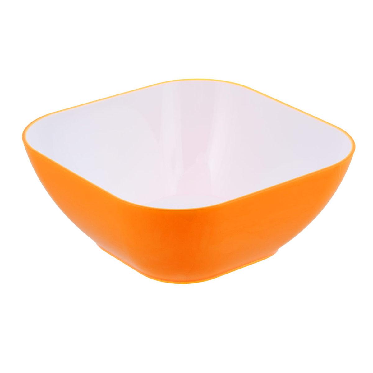 Пиала Bradex, цвет: оранжевый, 1,2 лTK 0133Пиала Bradex выполнена из цветного пищевого пластика, устойчивого к действию уксуса, спирта и масел. Пиала прочная и стойкая к царапинам. Благодаря высококачественным материалам она не впитывает запахи и не изменяет вкусовые качества пищи. Идеально подходит как для домашнего использования, так и для пикников. Яркий салатник создаст веселое летнее настроение за вашим столом, будь то домашний обед или завтрак на природе. Пиала настолько легка в уходе, что не отнимет у вас ни секунды лишнего времени, отведенного на послеобеденный отдых. Стильный и функциональный дизайн, легко моется. Объем: 1,2 л.
