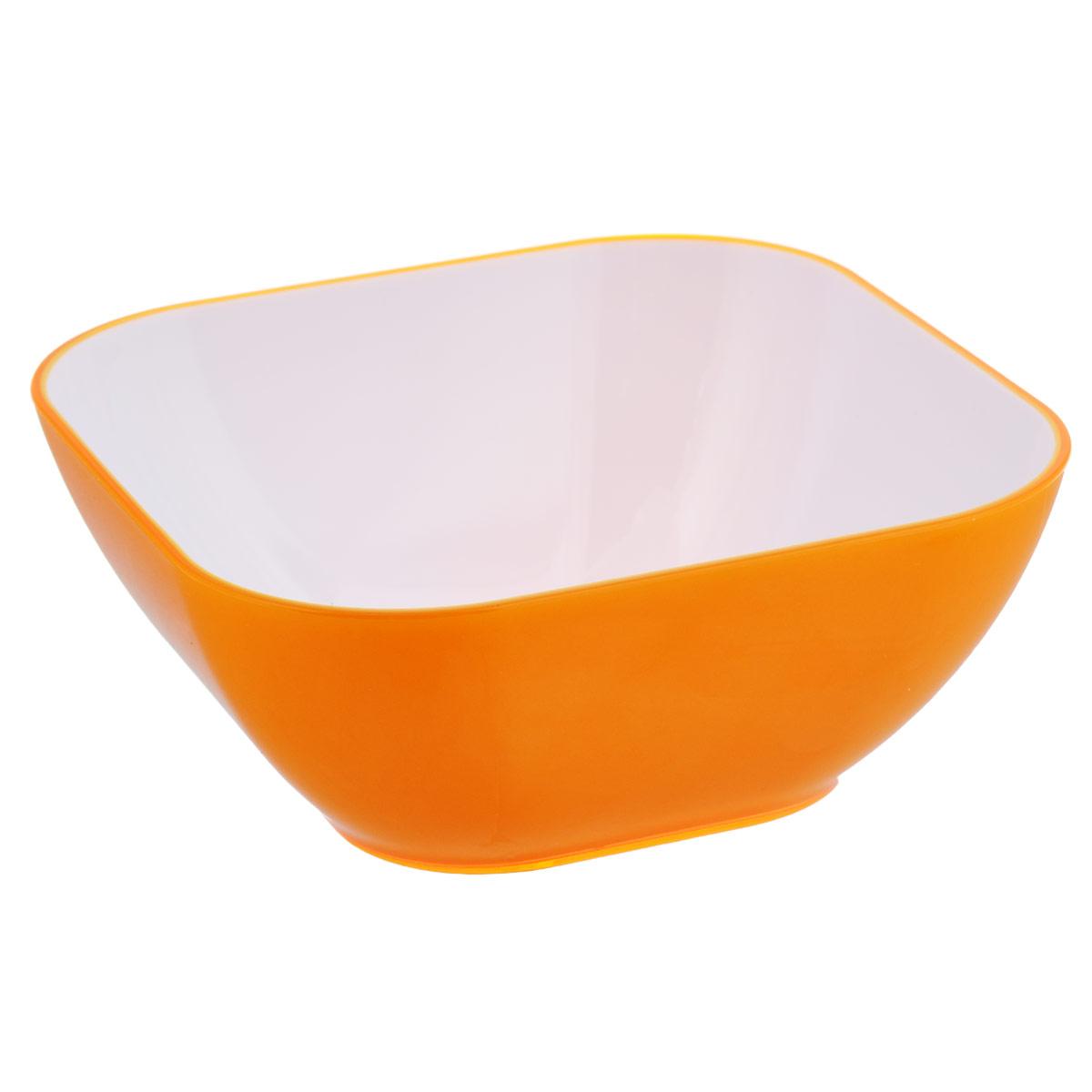 Салатник Bradex, цвет: оранжевый, 3,9 лTK 0130Салатник Bradex выполнен из цветного пищевого пластика, устойчивого к действию уксуса, спирта и масел. Салатник прочный и стойкий к царапинам. Благодаря высококачественным материалам он не впитывает запахи и не изменяет вкусовые качества пищи. Идеально подходит как для домашнего использования, так и для пикников. Яркий салатник создаст веселое летнее настроение за вашим столом, будь то домашний обед или завтрак на природе. Салатник настолько легок в уходе, что не отнимет у вас ни секунды лишнего времени, отведенного на послеобеденный отдых. Стильный и функциональный дизайн, легко моется. Объем: 3,9 л.