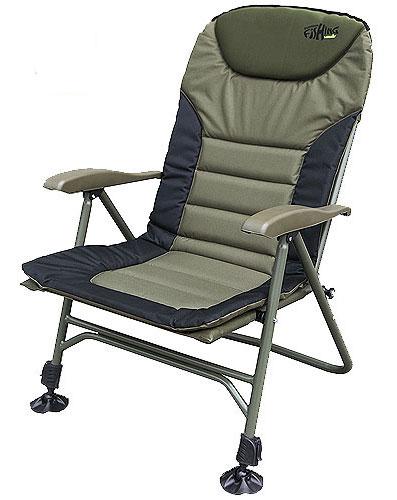 """Кресло карповое Norfin """"Humber NF"""", цвет: хаки, 70 см х 63 см х 105 см NF-20605"""