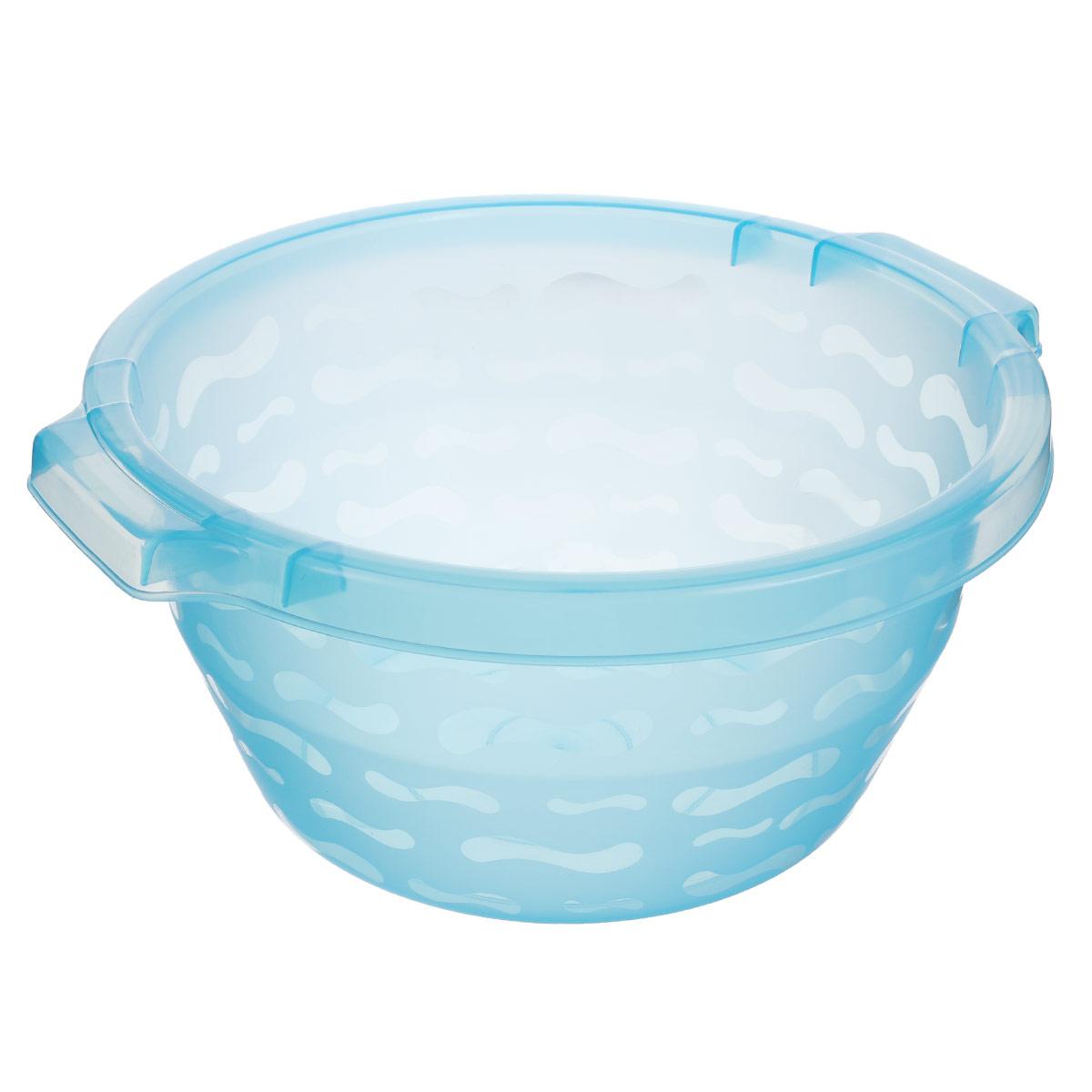 Таз Gensini, цвет: голубой, 8,5 л2430_голубойТаз Gensini изготовлен из высококачественного полупрозрачного пластика. Он выполнен в классическом круглом варианте. Для удобного использования таз снабжен двумя ручками. Благодаря легкости и современному дизайну таз Gensini станет незаменимым помощником и отлично впишется в интерьер вашей ванной комнаты. Диаметр таза по верхнему краю: 32 см. Высота таза: 16 см.
