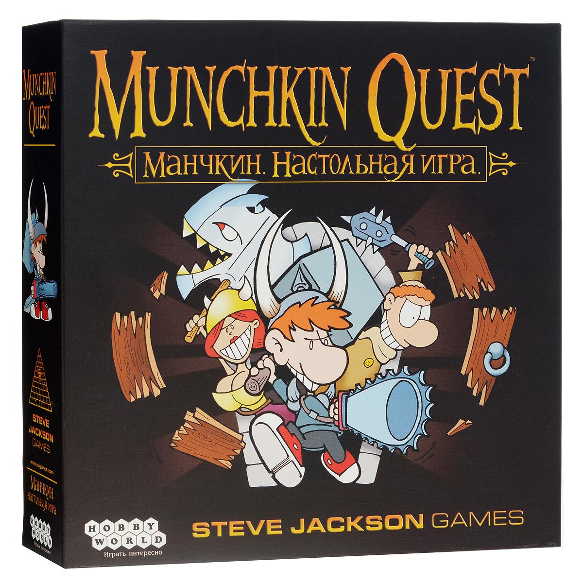 Hobby World Настольная игра Манчкин Quest (4-е издание)