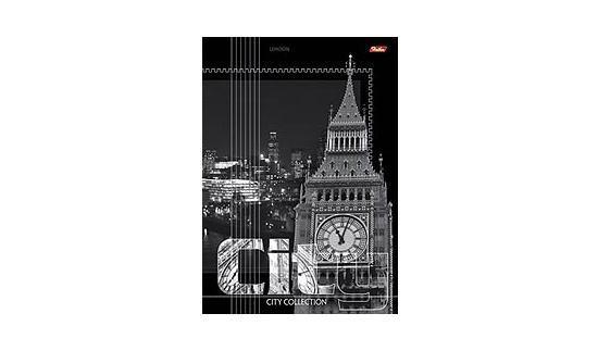 Тетрадь 96л А4ф линия на скобе серия -City Collection-, London96Т4B4Тетради А4 на скобе 96 листов. Обложка – мелованный картон, скрепление – скоба.