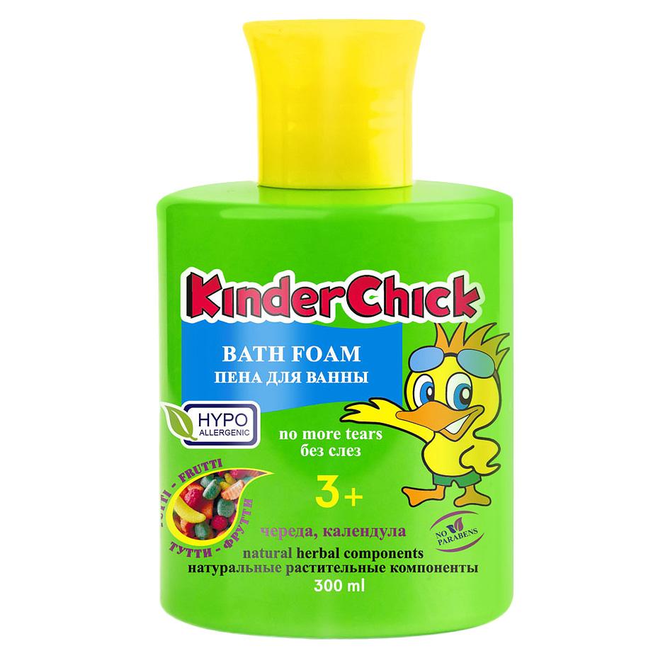 Kinder Chick Детская пена для ванны Тутти-фрутти, 300 мл (KinderChick)
