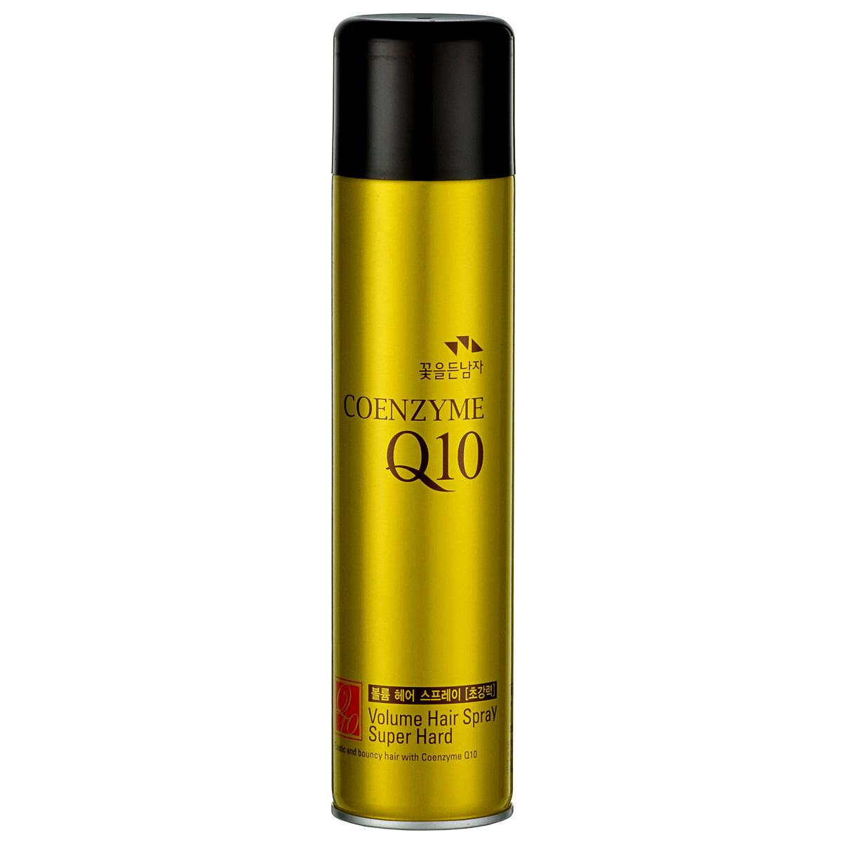 Somang Coenzyme Q10 Лак для укладки волос, 300 мл720504Длительная укладка без ощущения липкости при прикосновении. Содержит экстракт цветов Даурской Розы, керамид и увлажняющий компонент. Коэнзим Q10 причастен к выработке 95 % всей клеточной энергии. Являясь мощным антиоксидантом, Коэнзим Q10 нормализует энергетический процессы, улучшает кислородный обмен, замедляет старение клеток, дезактивирует свободные радикалы.
