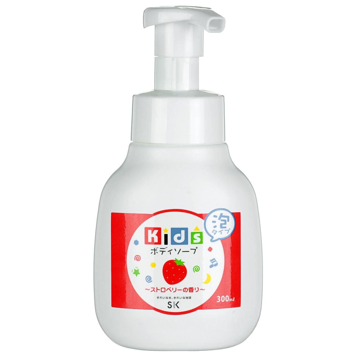SK Kids Детское пенное мыло для тела с ароматом клубники, 300 млА502004Воздушное детское пенное мыло порадует вашего малыша сочным ароматом клубники и мыльными пузырьками! Очищает детскую кожу и обеспечивает полноценный уход за ней. Средство абсолютно безопасно. Экстракт клубники, в составе пенки, увлажнит и окажет противовоспалительное действие на нежную кожу. Не содержит ПАВ, искусственных красителей, ароматизаторов, антиоксидантов, поэтому мыло необходимо хранить в местах, защищенных от прямых солнечных лучей, высокой температуры и влажности. Проверено дерматологами.
