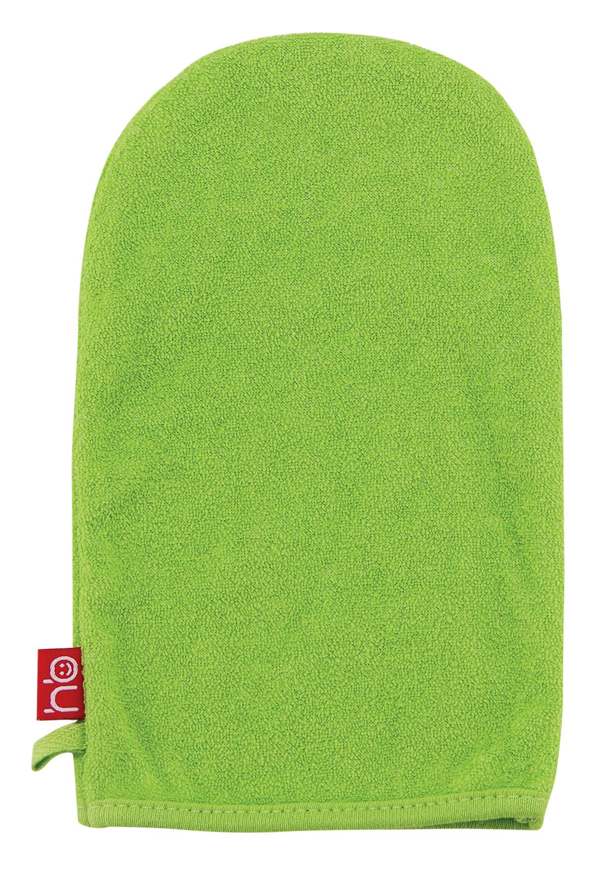 35005 Green Мочалка-рукавичка WASH&BATH (288 шт./12 шт.)35005_зеленый