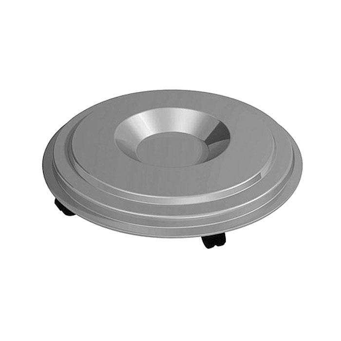 Подставка для контейнера Bama Vario, на колесах, диаметр 56,5 см40021Подставка Bama Vario, изготовленная из пластика, создана специально для контейнера Vario. С помощью этой подставки на колесах вы сможете легко и просто передвигать контейнер в любом направлении. Диаметр подставки: 56,5 см.