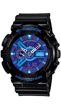 Наручные часы Casio GA-110HC-1AGA-110HC-1AЧасы водонепроницаемые и противоударные Casio GA-110.