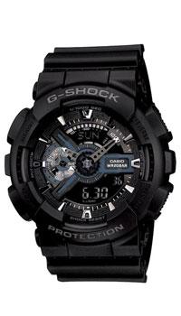 Наручные часы Casio GA-110-1BGA-110-1BЧасы водонепроницаемые и противоударные Casio GA-110.
