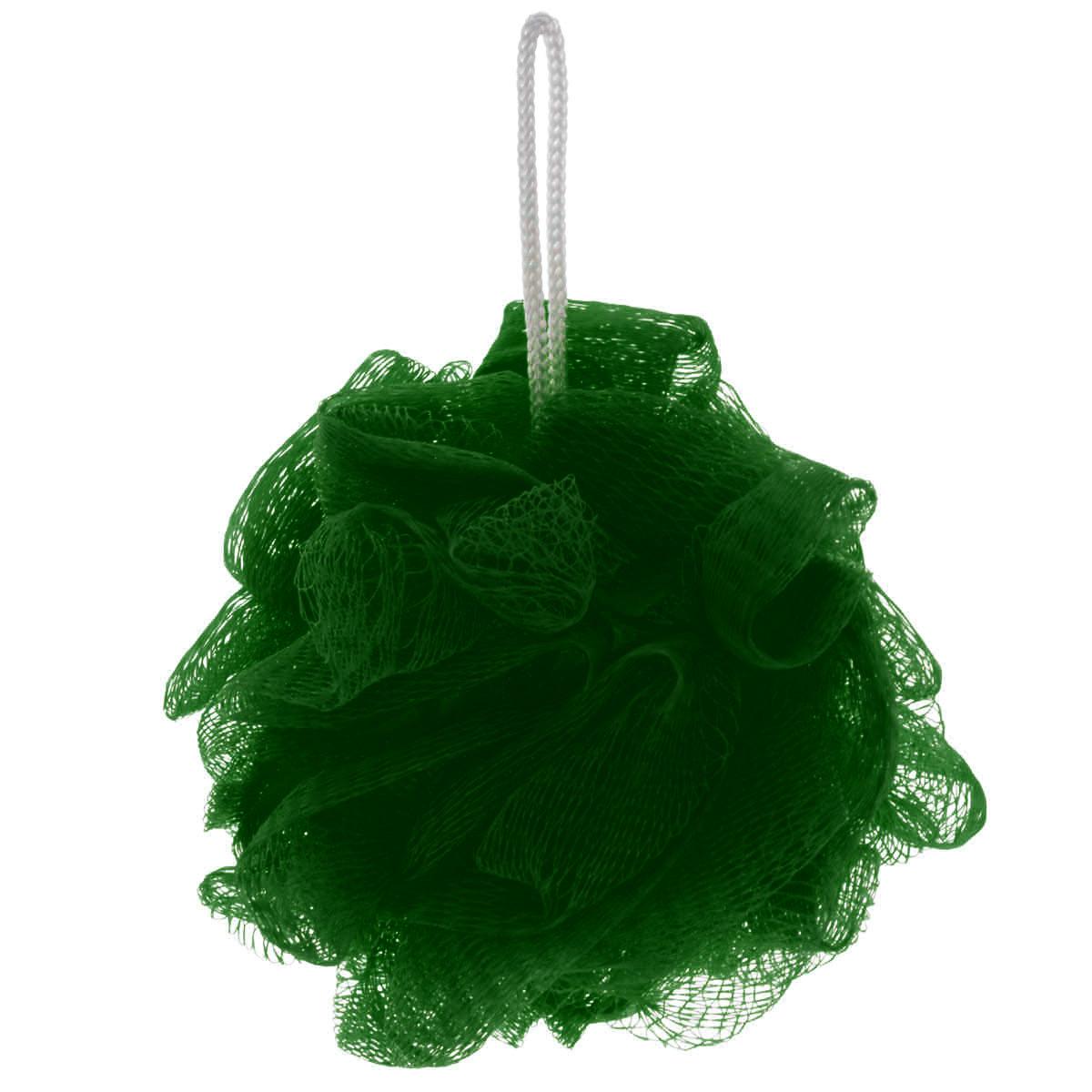Мочалка Eva Бантик, цвет: темно-зеленый, диаметр 11 смМС45_темно-зеленыйМочалка Eva Бантик, выполненная из нейлона, предназначена для мягкого очищения кожи. Она станет незаменимым аксессуаром ванной комнаты. Мочалка отлично пенится, обладает легким массажным воздействием, идеально подходит для нежной и чувствительной кожи. На мочалке имеется удобная петля для подвешивания. Диаметр: 11 см.