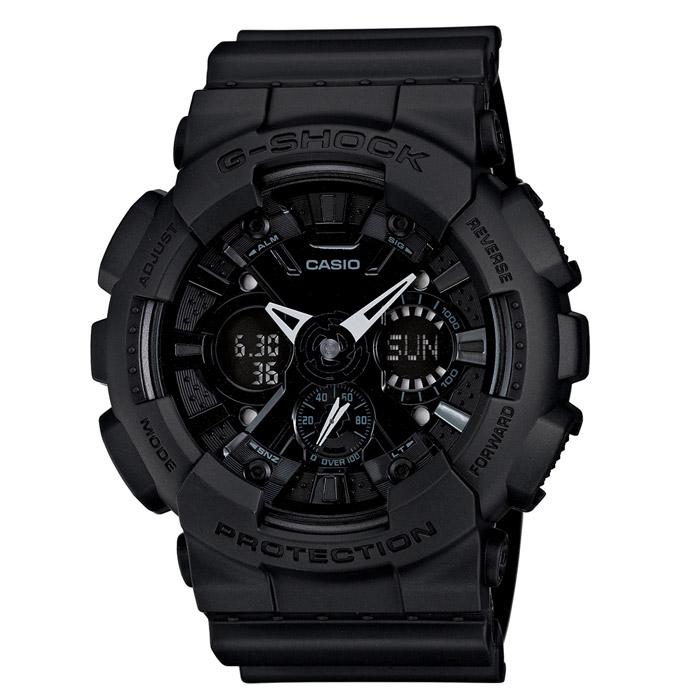 Наручные часы Casio GA-120BB-1AGA-120BB-1AЧасы водонепроницаемые и противоударные Casio GA-120.