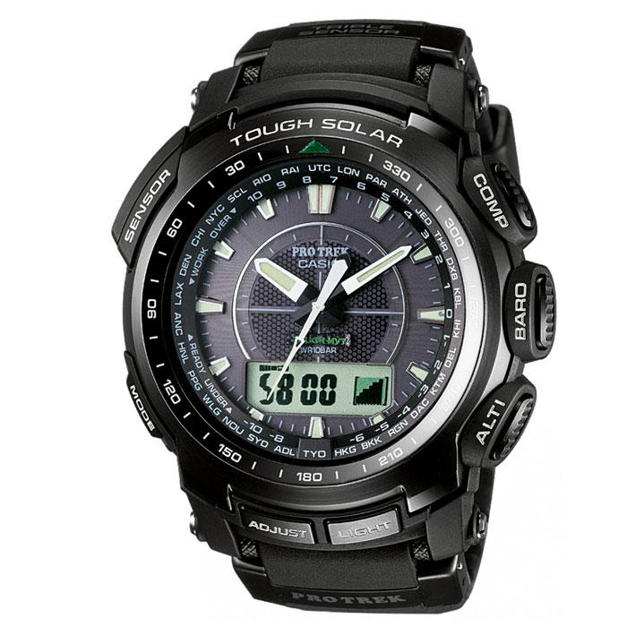 Наручные часы Casio PRW-5100-1EPRW-5100-1EМужские часы Casio PRW-5100-1E.