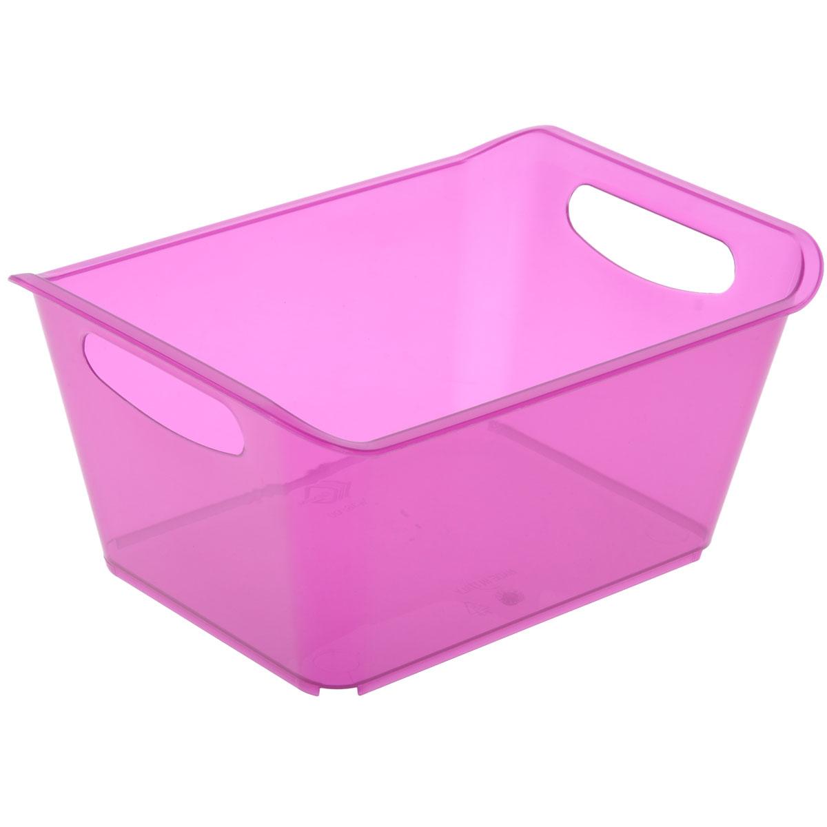 Контейнер Gensini, цвет: сиреневый, 1,5 л3330Контейнер Gensini выполнен из прочного пластика. Он предназначен для хранения различных мелких вещей в ванной, на кухне, даче или гараже, исключая возможность их потери. По бокам контейнера предусмотрены две удобные ручки для его переноски. Контейнер поможет хранить все в одном месте, а также защитить вещи от пыли, грязи и влаги. Объем: 1,5 л.