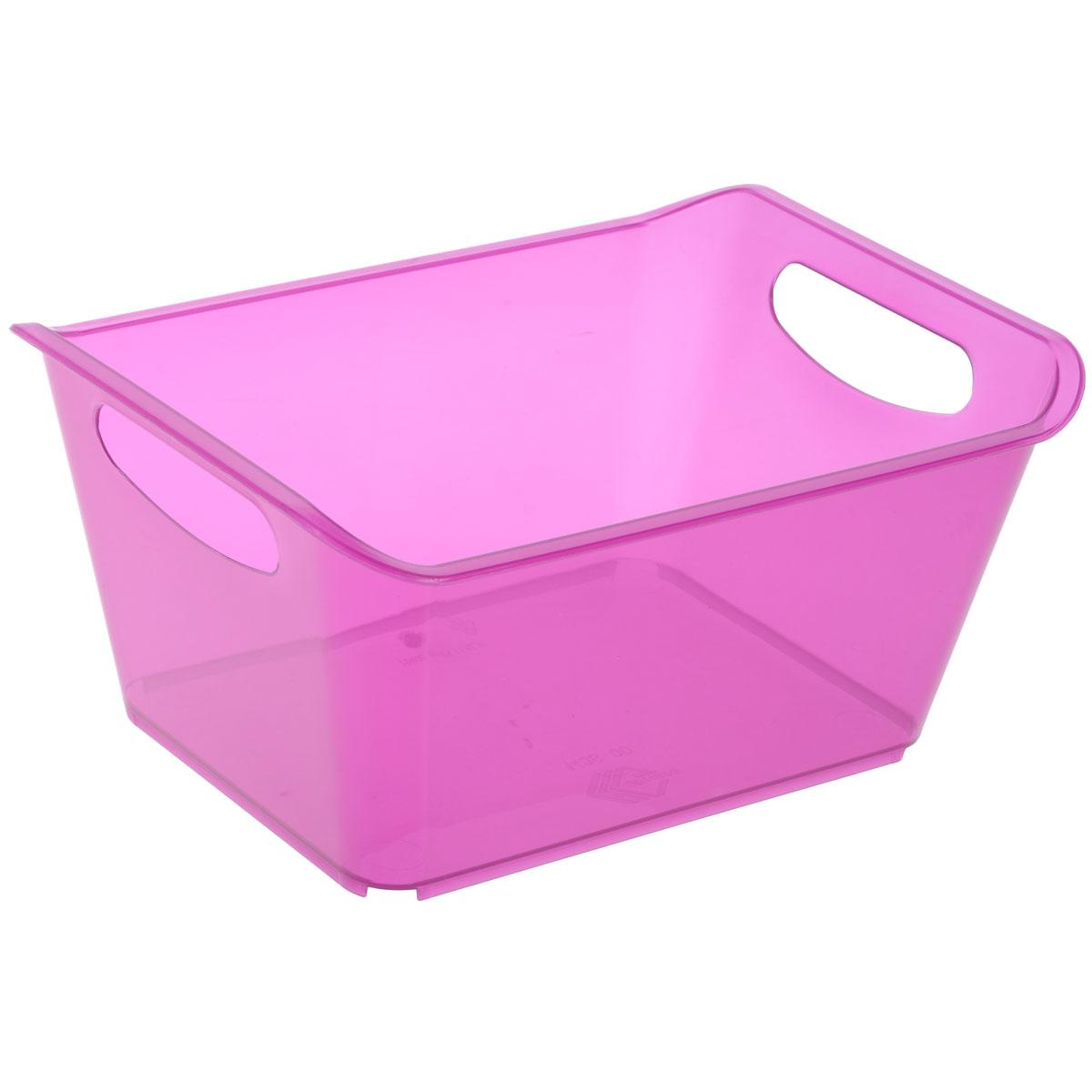 Контейнер Gensini, цвет: сиреневый, 5 л3331Контейнер Gensini выполнен из прочного пластика. Он предназначен для хранения различных мелких вещей в ванной, на кухне, даче или гараже, исключая возможность их потери. По бокам контейнера предусмотрены две удобные ручки для его переноски. Контейнер поможет хранить все в одном месте, а также защитить вещи от пыли, грязи и влаги. Объем: 5 л.